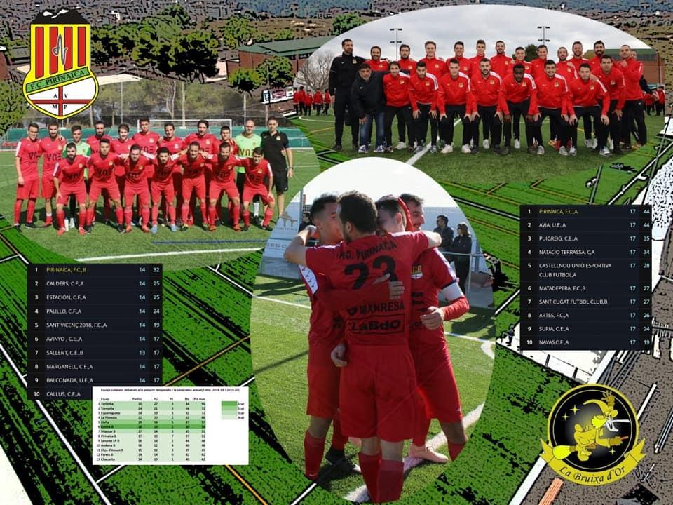FC Pirinaica football team along with La Bruja de Oro