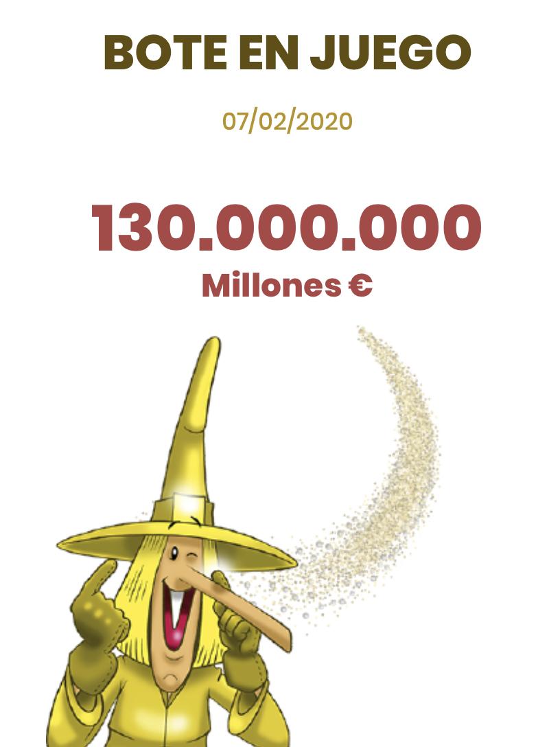 Juega Bote Euromillones La Bruja de Oro
