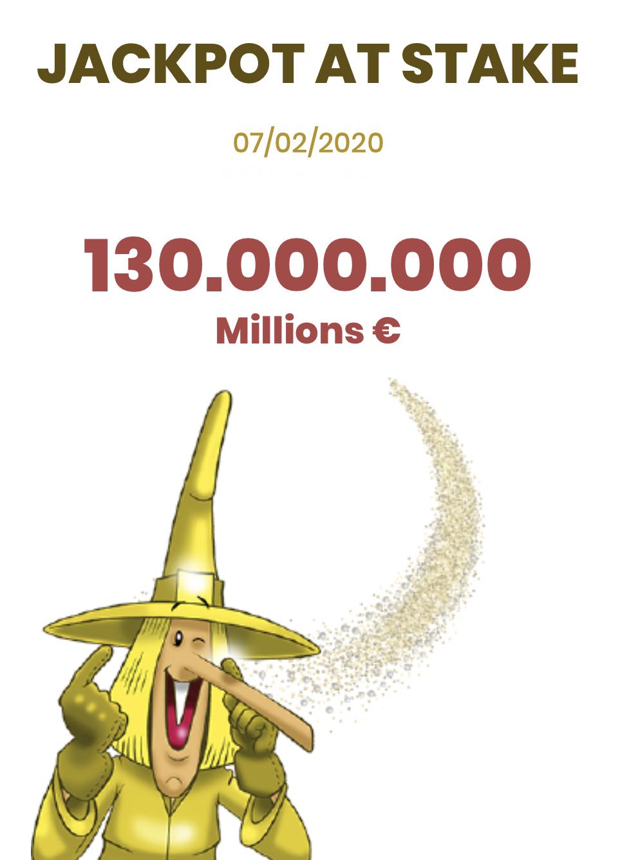 Play Euromillions Jackpot La Bruja de Oro