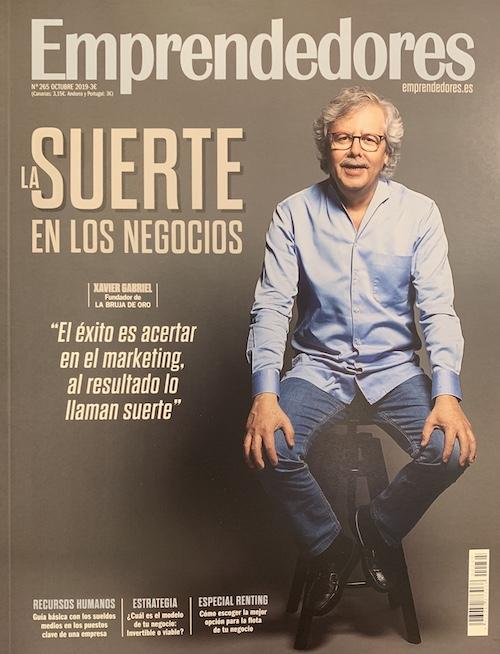 Revista Emprendedores - La Bruja de Oro - Xavi Gabriel